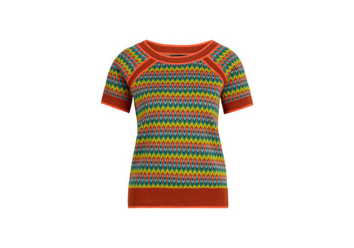 King Louie King Louie - raglan top ladyland - umbre