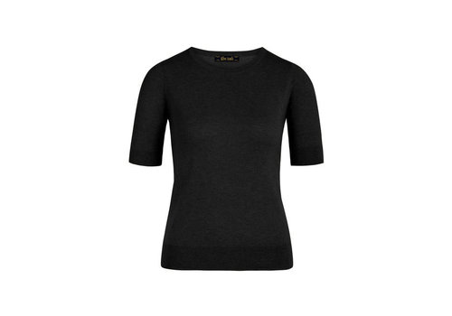King Louie King Louie - agnes top cocoon - black