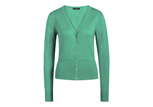 King Louie King Louie - cardi v cocoon - opal green