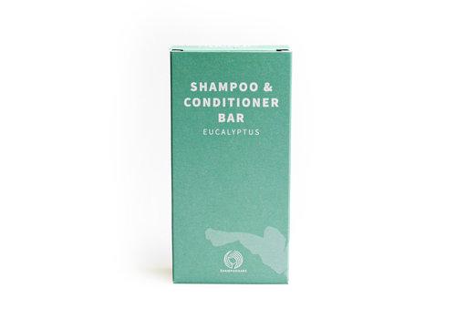 Shampoo bars SB - shampoo & conditioner bar - eucalyptus