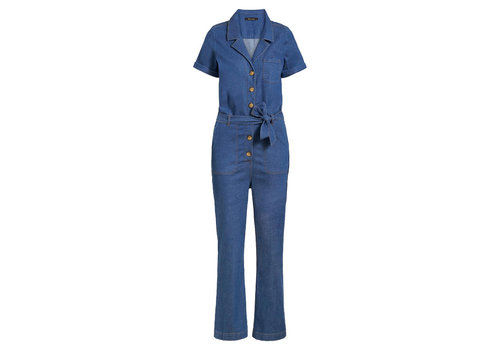 King Louie King louie - gracie jumpsuit chambray - river blue