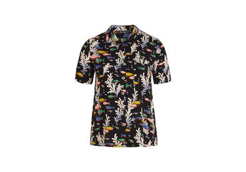King Louie King Louie - ella blouse big sur - black