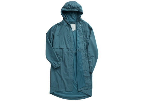 Seasalt Seasalt - dry point coat - dusky jade