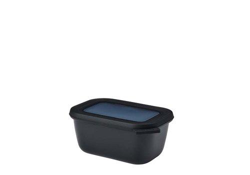 Mepal Mepal - multikom cirqula rechthoekig 750 ml - nordic black