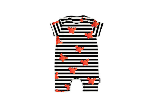 Snurk Snurk - playsuit babies - clay crab