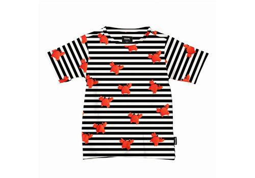 Snurk Snurk - t-shirt kids - clay crab