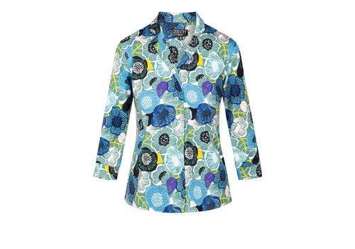 Zilch Zilch - blouse - flowerfield porcelain