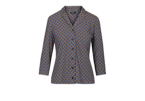 Zilch Zilch - blouse - mosaic black