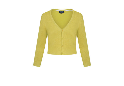 Zilch Zilch - cardigan short bamboe - lime