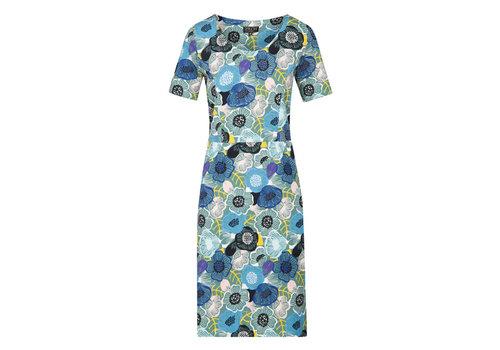 Zilch Zilch - dress pockets - flowerfield porcelain