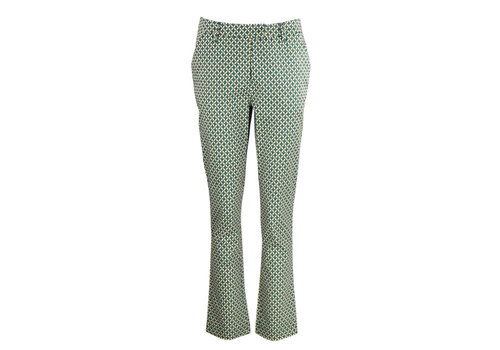 Zilch Zilch - pants - mosaic lime