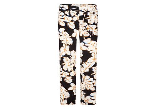 Zilch Zilch - pants wide - hawaii black