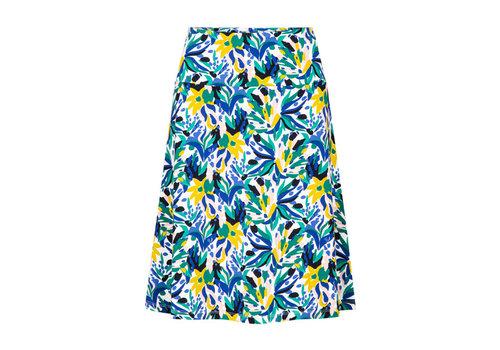 Zilch Zilch - skirt a-line - bouquet lime