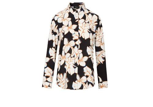 Zilch Zilch - wide blouse - hawaii black