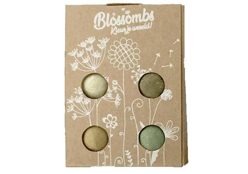 Blossombs Blossombs - geschenkdoosje (4 bommetjes)