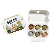 Blossombs - eierdoosje (6 bommetjes)