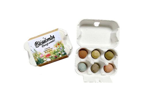 Blossombs Blossombs - eierdoosje (6 bommetjes)