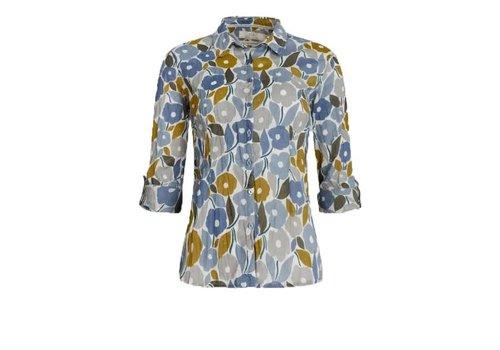 Seasalt Seasalt - larissa shirt - chalked blooms wild pansy