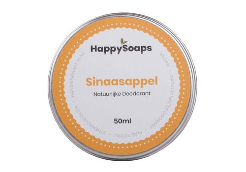 HappySoaps Happysoaps - natuurlijke deodorant - sinaasappel