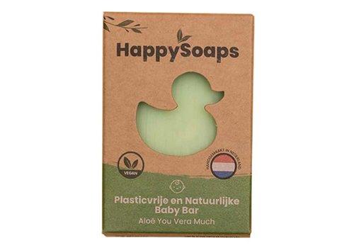 HappySoaps Happysoaps - natuurlijke baby bar - aloe you vera much