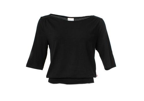Froy & Dind Froy & Dind - shirt valerie - black