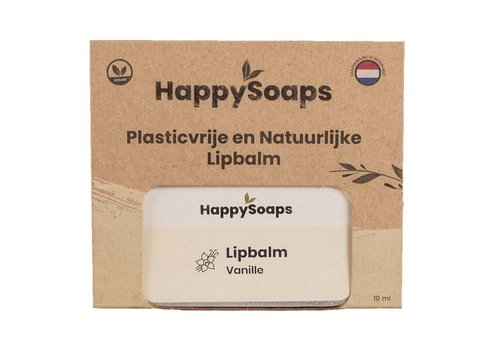 HappySoaps Happysoaps - natuurlijke lipbalm - vanille