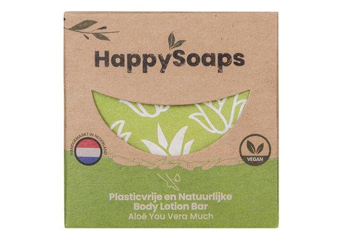 HappySoaps Happysoaps - natuurlijke lotion bar - aloe you vera much