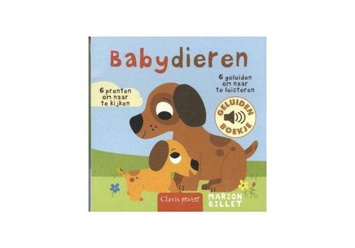 Clavis Clavis - geluidenboekje - babydieren