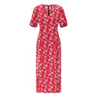 Tranquillo - midi jurk eco vero e10 - blossom