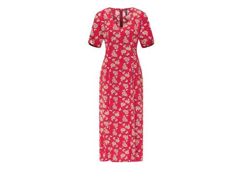 Tranquillo Tranquillo - midi jurk eco vero e10 - blossom