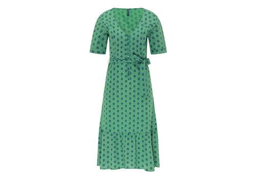 Tranquillo Tranquillo - jurk e11 - sundial green