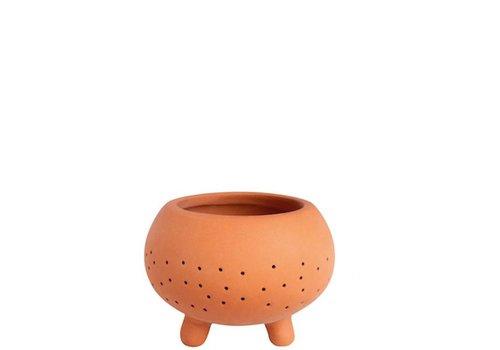 Räder Rader - terracotta tealight - groot