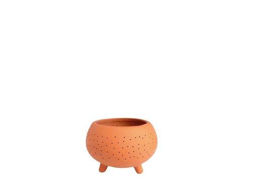 Räder Rader - terracotta tealight - klein