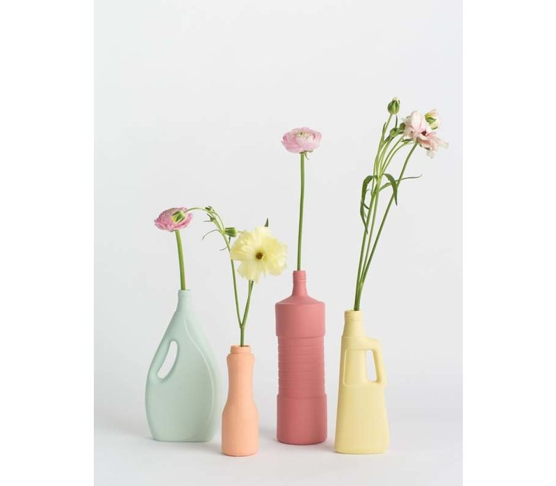 Foekje Fleur - porcelain bottle - #5 old red