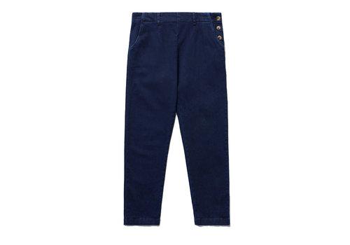 Seasalt Seasalt - waterdance trousers - dark indigo wash