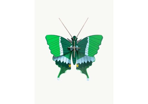 Studio Roof Studio Roof - small insects - jade butterfly