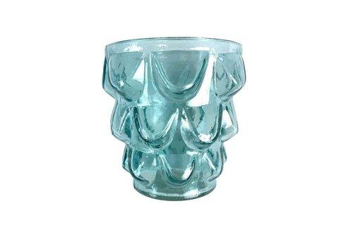 Imbarro Imbarro - waxinnenlicht houder - aqua
