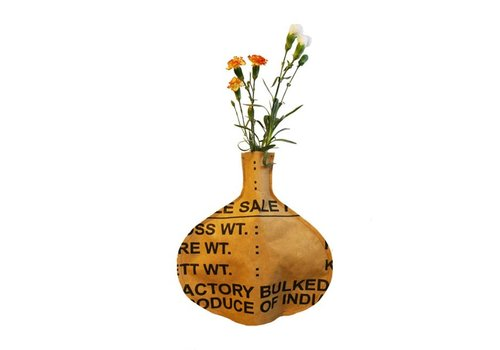 Superwaste Superwaste - bottle vase - round