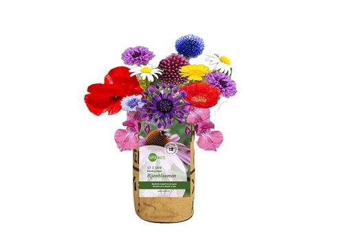 Superwaste Superwaste - let it grow bag - bee flower blend