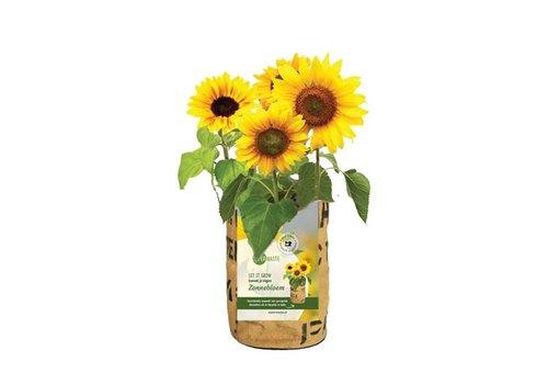 Superwaste Superwaste - let it grow bag - zonnebloem