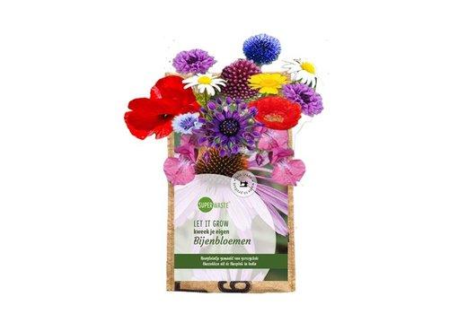 Superwaste Superwaste - let it grow hanging -  bee flower blend
