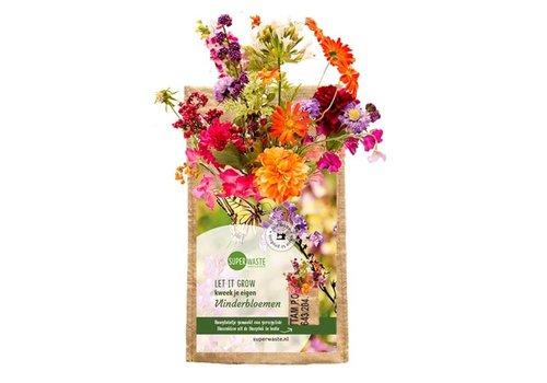 Superwaste Superwaste - let it grow hanging -  butterfly flower blend