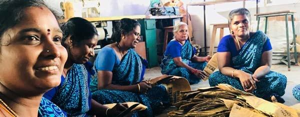 Superwaste werkgelegenheid vrouwen India