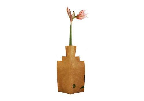Superwaste Superwaste - bottle vase - house trapgevel