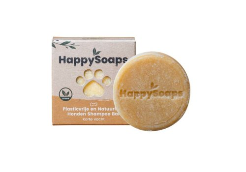 HappySoaps Happysoaps - shampoo bar - hond korte vacht (70g)
