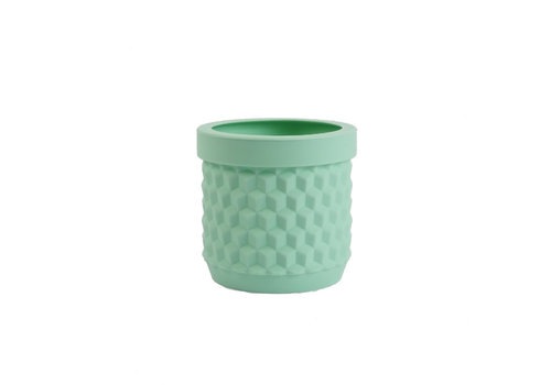 Living by Colors Living by colors - silicone bloempot potts - pale turquoise