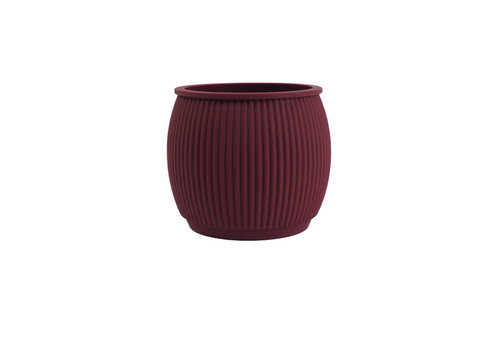 Living by Colors Living by colors - silicone bloempot chubby - aubergine