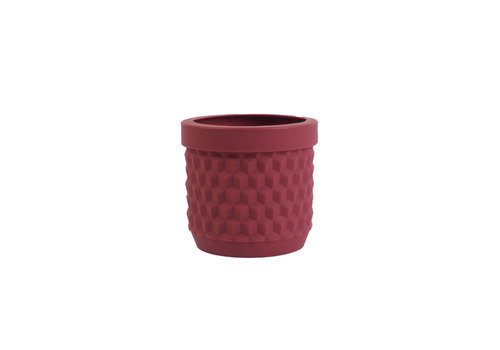 Living by Colors Living by colors - silicone bloempot potts - mulberry