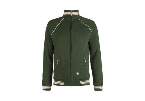 King Louie King Louie - jacket raglan heavy sweat - forest green