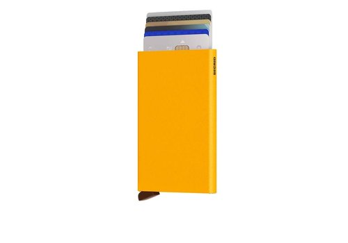 Secrid Secrid - cardprotector - ochre